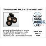 Firestone 10,5 x 16 Wheel Set