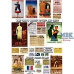 Werbe und Propaganda Poster Frankreich 1/35