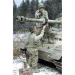 US GI Sprengen Dt. Panzer 2 Figuren 1:35