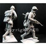 """Französischer Soldat """"in Action""""  1:35"""