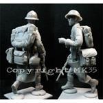 "Französischer Soldat ""in Action"" III   1:35"