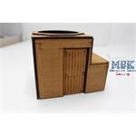 Holzbunker für Panther Turm / Wooden pillbox