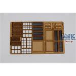 Fenster Set für Village House Mini Art Window Set
