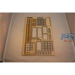 Fensterset für German City Building von Miniart