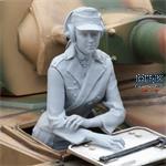 Pzkpfw IV German Female Tank Radio operator