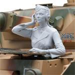 Pzkpfw IV German Female Tank Driver