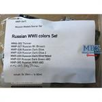 Russian WWII colors Set
