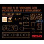 British R-R Armored Car Pioneer Tool Resin