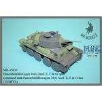 Panzerbefehlswagen 38 (t) Ausf E, F, G