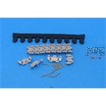 Workable Metal Tracks for M113, new rubber pads