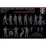 WWII German panzer soldiers, set 2
