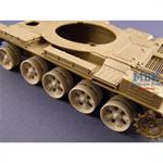 Burn out wheels for T-55/62