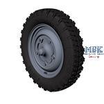 Kubelwagen road wheels (extra gelande)