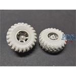 KRAZ-260 & 6322 Road wheels set