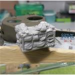 "Turret stowage bin for M4 ""Sherman"" 75mm"