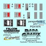 DeAgostini Falcon Corridors Photoetch Set 1:43