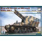 15 cm sFH 13/1(Sf) auf GW Lr.s.(f) Sd.Kfz. 135/1