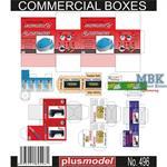 Commercial boxes / Verpackungen  1/35