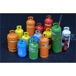 Gas bottles-big / Große Gasflaschen