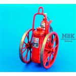 Extinguisher wheeled 150LB  1/48