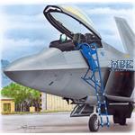 Ladder for F-22