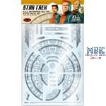 Star Trek USS Enterprise NCC-1701 Aztec Decal Set