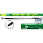 Double headed Sponge Pen / doppleter Schwammkopf