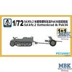 Sd.Kfz.2 Kettenkrad  & Pak 36