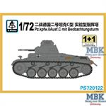 Panzer II Ausf. C mit Beobachtungsturm