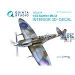 Spitfire Mk.IX  3D-Printed & coloured Interior