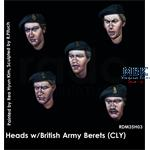 Headset -  5 Heads British Army Berets