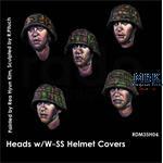 Headset -  5 Heads Waffen SS Helmets Covers