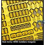 Red Army Soldiers Insignia Set / Russische Abzeich