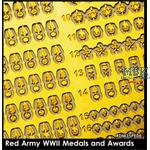 Red Army Medals & Awards / Russische Orden