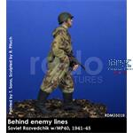 "Soviet Razvedchik w/MP40 ""Behind the lines"" 1/35"