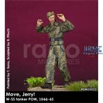 """Move Jerry"" Waffen-SS Tanker in POW 1/35"