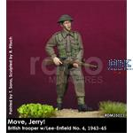 "British Trooper w/Lee Enfield"" Move Jerry"" 1/35"