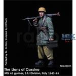 The Lions of Cassino -MG42 Gunner 1.FJ Division