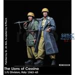 The Lions of Cassino - 1. FJ Division Italy 43-45