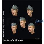 Headset -  5 Heads w/ Waffen SS Caps