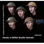 Headset -  5 w/ British Brodie helmet