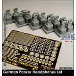 Kopfhörer Set / German Panzer Headphones Set