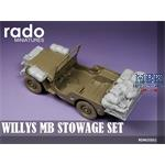 Stowage set for Willys MB