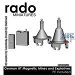 German Anti Tank Magnetic Mines + Explosives