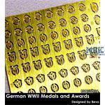 German Medal +  Insignia Set / Orden + Abzeichen
