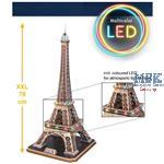 3D Puzzle: Eiffelturm - LED-Edition