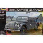 "German Staff Car ""Admiral Cabriolet"""