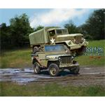 M34 Tactical Truck + Off-Road Vehicle