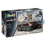 SpPz2 Luchs & 3D Puzzle Diorama