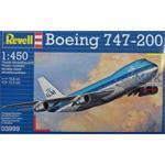 "Boeing 747-200 ""KLM"" 1:450"